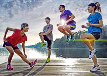 ออกกำลังกายไปพร้อมกับไอเทมคู่ใจของคนรักสุขภาพ