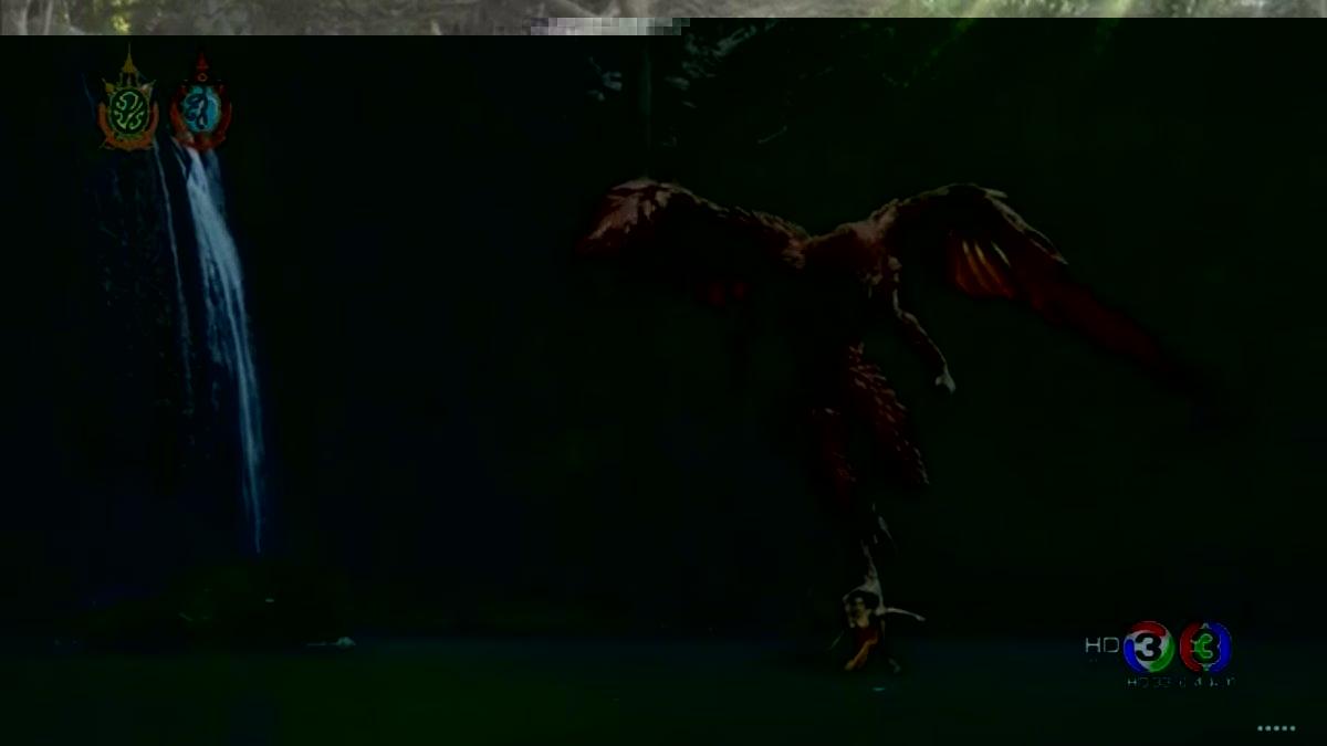 นกยักษ์จับตัวเจ้าแม่นาคี